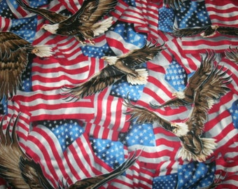 Free Shipping! on 2 Patriotic American Flag, Sofa, Bed Pillow Covers - American Eagle - Fourth of July Decor-Holiday Pillow Cover, USA