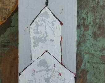 Church Painting on wood