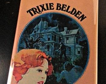 Trixie Belden Secret of the Mansion vintage book cover refrigerator magnet