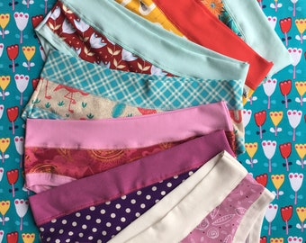 3pack organic cotton underwear - please choose 3 colors