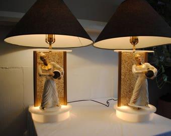 Rotating lamp etsy moss lucite rotating lamps aloadofball Choice Image