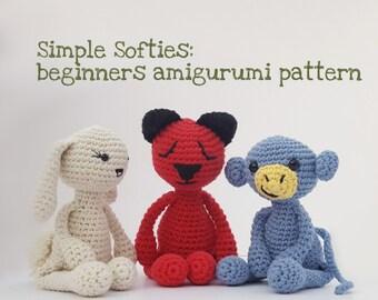 Amigurumi For Dummies Book : Japanese craft pattern book crochet amigurumi cats bears elephant