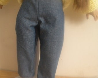 18 inch doll blue jeans