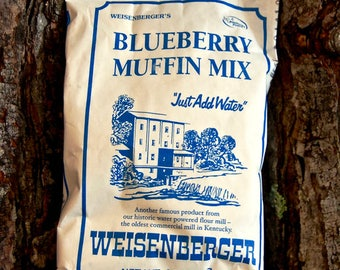 Weisenberger's Blueberry Muffin Mix