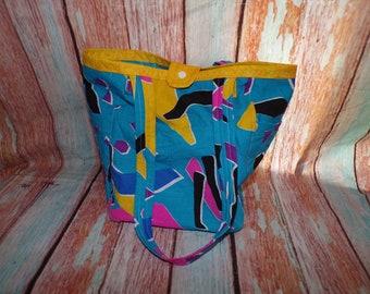 Purse Tote Bag Abstract - Same Day Ship