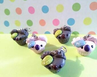 Australian Koala Charms Polymer Clay charms