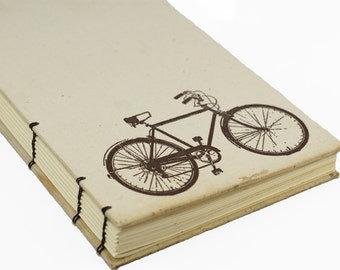 1970 BICYCLE Vintage Book Journal Notebook