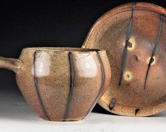 Allison's Wood Fired Salt Glazed Soup Bowl Set