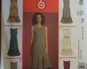 McCalls M5180, sizes 8-14, misses, petite, dress, UNCUT sewing pattern