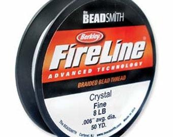 Fireline~ 8LB (Crystal color) 50 YDS