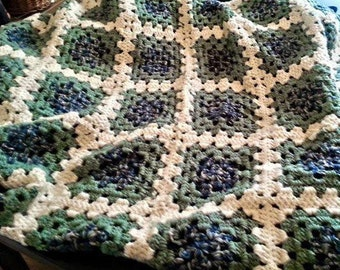 Hand Made Granny Square Afghans