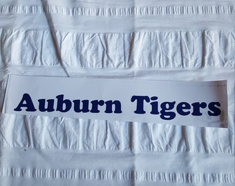 Auburn number or window decal.