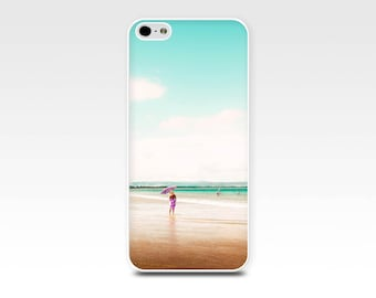 beach iphone case 5s iphone 5 case nautical iphone case 4s beach umbrella iphone 4 case iphone 5 case beach umbrella pink gold aqua pastel