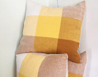 Hand Woven Feather Down Throw / Accent Pillows