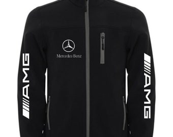 MERCEDES Stylish Soft Shell Jacket Wind And Water Resistant