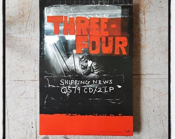 Shipping News, Three-Four album release / tour poster
