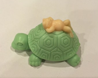 Tortoise with Frog