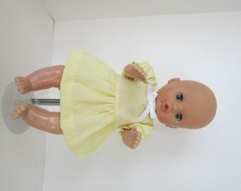 """15-16"""" Yellow Dress and Panty Set"""