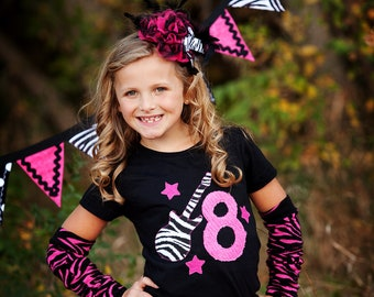 Birthday Shirt for Girls Personalized Clothing Girl Birthday