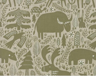 Big Sky Montana in Stone from the Big Sky collection by Annie Brady for Moda Fabrics, Choose the Cut, 16700 12