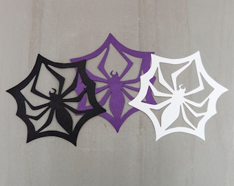 8 Spider SM Snowflake from Nightmare Before Christmas