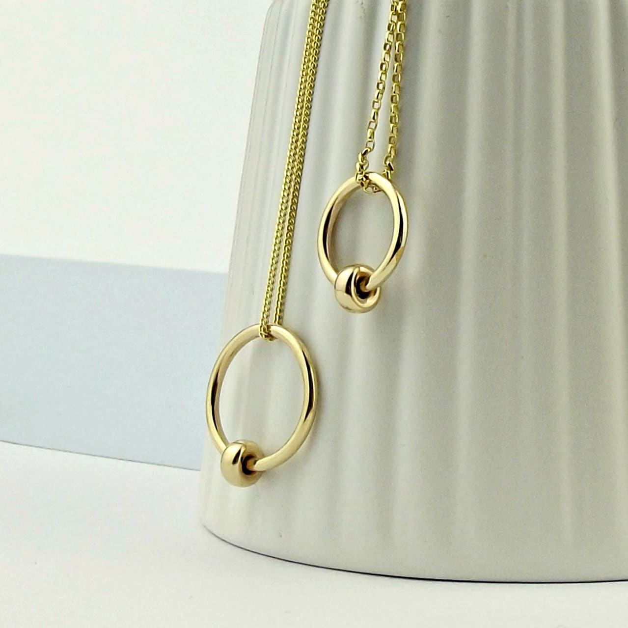 online meridian products simple necklace close charm jewelry gold avenue ave wishbone