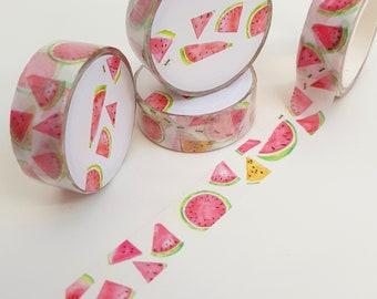 Pretty Summer Watermelon Washi Tape