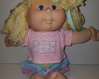 Authentic 1991 Cabbage Patch Kissin' Kids