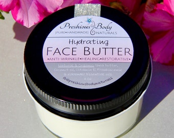 Hydrating Anti-Wrinkle face cream all natural with Frankincense and Lavender