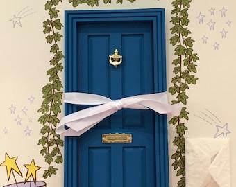 Blue Magic Fairy Door