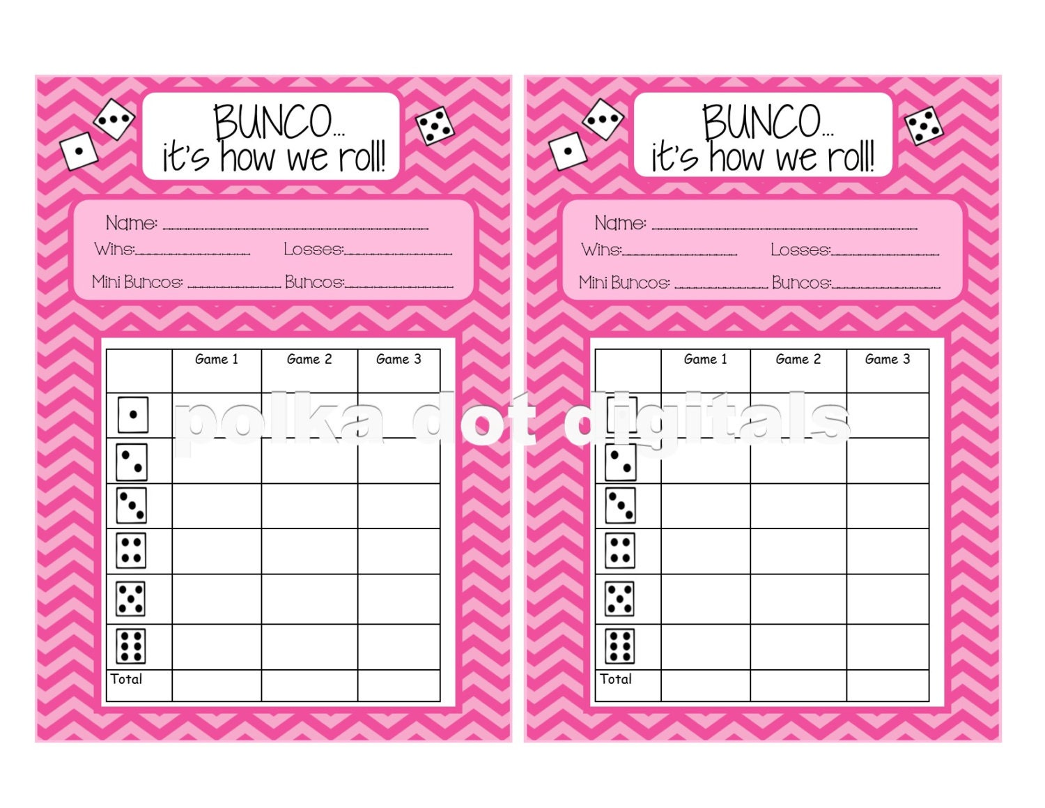 It's just a graphic of Genius Free Printable Bunco Score Sheets