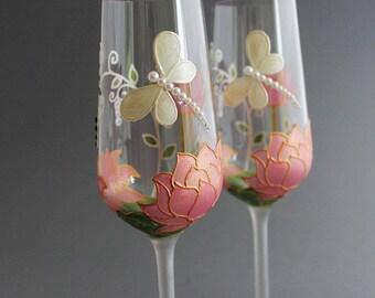 30 copas de aniversario de boda, gafas de aniversario de perla, gafas de la perla de la boda, copas de vino perla, 30 regalo de aniversario