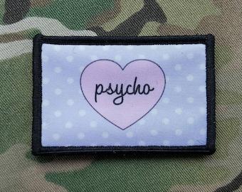 Psycho Chic Pink Morale Patch CCW 3 Gun EDC