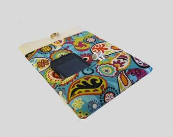 iPad Mini Cover, iPad Mini 3 Case, Kindle Fire Case, Nexus 7 Sleeve, Lenovo Yoga Tablet 8 cover, Galaxy Tab cover, Paisley
