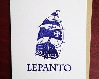 Letterpress - Lepanto