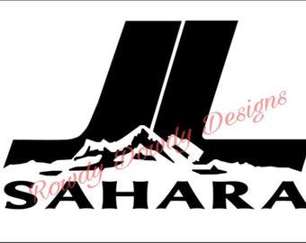 JL Sahara decals