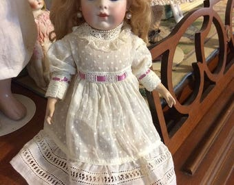 SALE!! Bru Jne 11 Antique Reproduction French Bebe Doll 15""