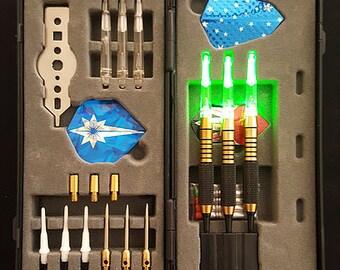 Lighted dart gift set