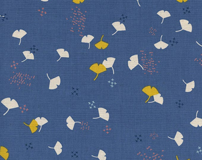 Pre-Sale: Gingko (Lilac) from Firelight by Rashida Coleman-Hale for Cotton +Steel - Unbleached Cotton White Pigment Fabric