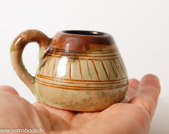 Vintage miniature Ceramic Vase, Jug, Pitcher (Art.PR578)