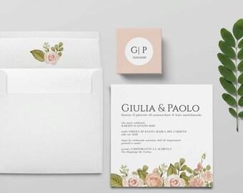 Invitations de mariage, invitations de mariage-suite-modèle San Remo de mariage