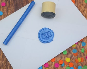 Love Letter Wax Seal Stamp - envelope seal - wax seal - gift wrapping