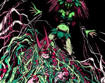 Poison Ivy & Batman