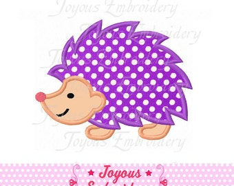 Instant Download Hedgehog Applique Embroidery Design NO:1533
