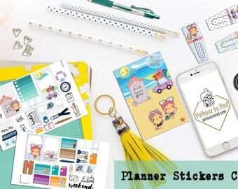 Classic Planner Stickers Club, Planner Sticker Subscription, Monthly Subscription, Subscription Box, Sticker, Happy Planner, Sunny Days