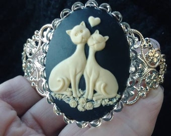 Buyers Choice. Cats or Horse Cuff Bracelet
