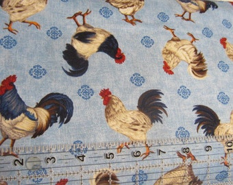 American Folk by Jennifer Brinley for Studio E Fabrics, Chickens, Roosters