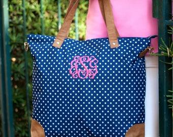 Monogram Charlie Dot Crossbody Purse, Monogram Purse, Monogram Tote, Monogram Personalized Purse, Monogram Tote Bag