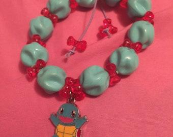 Pokemon squirtle bracelet