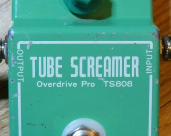 Alchemy Audio Ibanez TS808 True Bypass Modification Service Only (No Pedal) Guitar Effects Pedal Mod
